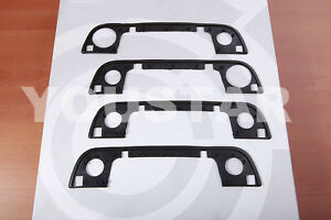 Door Handle Gasket Rubber Seal front + back 4x for BMW 3 5 7 Seri E32 E34 E36