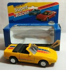 SUPER RACER 1:38 DIECAST CONVERTIBLE SPORTS PULL BACK & GO ACTION OPENING DOORS
