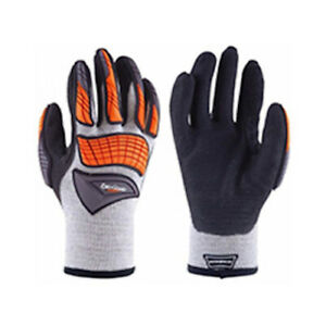 ExxoGuard gloves  nitrile palm coating size L or XL only impact protection