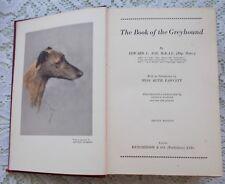 GREYHOUND DOG BOOK EDWARD ASH 1933 COURSING RACING