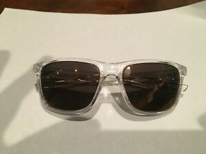 Brand new Retro Nike SB Ev0989 Clear sunglasses aviator GOLD MIRROR