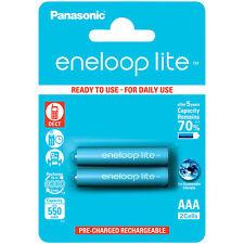 Panasonic eneloop lite NiMH-Akkus AAA / Micro, 1,2 Volt, 550 mAh, 2er-Pack