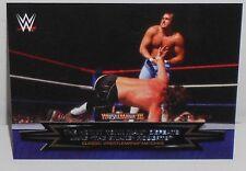 WWE -  CLASSIC WRESTLEMANIA MATCHES  -  INSERT CARD  - #2 OF 30