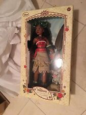Disney Store Limited Edition 6500 Moana New in Box 16 inch doll
