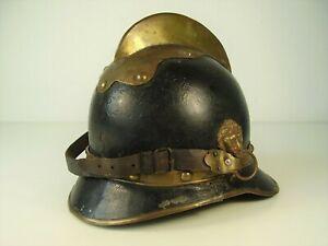 Antike Pickelhaube / Helm / Feuerwehr vor 1918