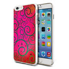 For Various Phones Design Hard Back Case Cover Skin - Hot Pink Pretty Pattern