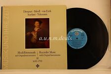 "RECORDER MUSIC ORIGINAL INSTRUMENTS III - TELEFUNKEN RECORDS  LP 12"" (VG)"