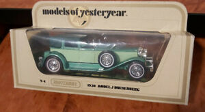 Models of Yesteryear - Matchbox - 1930 Model J Duesenberg - #Y-4