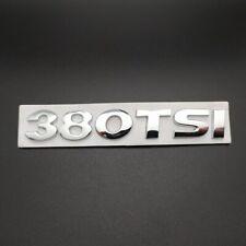 LOGO 380 TSI VW GOLF 7 VII MK7 ARRIÈRE BADGE EMBLÈME ORIGINAL 5G0853675BB