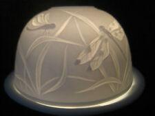♛ kl.  Lithophanie ♛ Windlicht zum Träumen ♛ Lilbelle ♛ Libellen ♛ Porzellan ♛