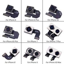 Para iPhone 6s/6sp/7/7P/8/X/Xs Max Cámara Trasera Trasera Módulo negra de repuesto