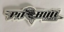 Pit Bull Tires Decal Sticker Drag Offroad Nascar Racing Man Cave Hotrod