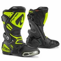 motorcycle boots | Forma Ice Pro racing track road race neon fluro gp tech smx