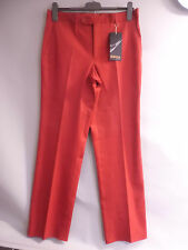 BRAND NEW GEFA GOLF TROUSERS, RED, SIZE 34W 32L  FREE P&P