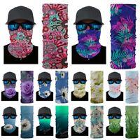 Multi-fun Face Mask Sun Mask Balaclava Neck Gaiter Fishing Scarf Headwear UV#174
