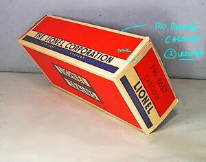Lionel  ORIGINAL BOX #6657 RIO GRANDE Sp CABOOSE