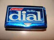 Vintage Sky Blue Dial  Deodorant  Soap Bar NOS 5 oz Armour-Dial Co