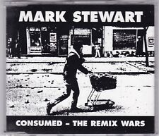MARK STEWART - CONSUMED - THE REMIX WARS 5 TRACK CD MUTE © 1998