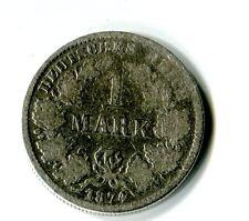 1 Mark Deutsches Reich Kaiserreich 1874 E Silber M_1293