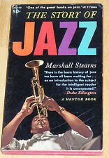 The Story of Jazz, Marshall Stearns - paperback - RARE