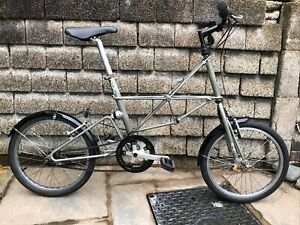 1997 Moulton Space Frame APB Limited Edition RAC Model 7 Speed Folding Bicycle