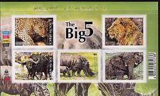 South Africa 2014 Big Five sheetlet of 5