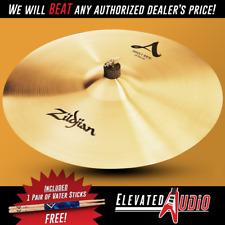 """Zildjian A 21"""" Sweet Ride Cymbal + FREE Vater Hickory Drum Sticks! Make Offer!"""