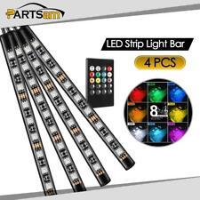 36LED RGB Color Decorative LED Strip Light Bar 12V Car Under Dash Lighting Kit