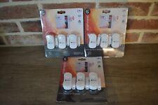 Lot de 9 Capteurs détecteurs ouvertures portes fenêtres alarme smartwares contac