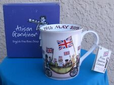 Prince Harry & Meghan Markle Royal Wedding '18 Bone China Mug by Alison Gardiner