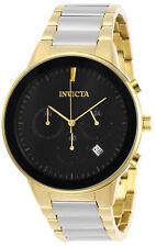 Invicta мужские часы хронограф специальность кварц черный циферблат Tt браслет 29478