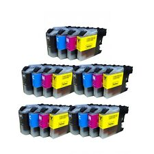 5 Sets of 20 INK NON-OEM BROTHER LC-203 XL MFC-J4320DW J4420DW J4620DW J5520DW