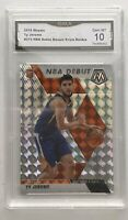 TY JEROME 2019-20 Panini Mosaic NBA Debut MOSAIC PRIZM Suns RC No. 273 GMA 10