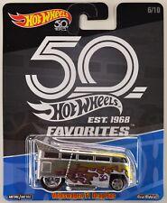 2018 Hot Wheels: VOLKSWAGEN T1 DRAG BUS - 50th Anniversary FAVORITES Series 2 VW