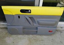 98 99 00 01 02 03 04 05 10 VW Beetle Passenger Right Side Door Panel yellow K1