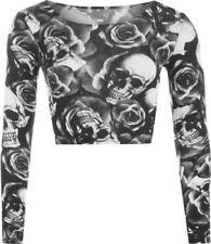 Maglie e camicie da donna a manica lunga party taglia 42