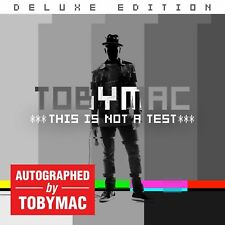 TobyMac signed Autograph music Audio CD Brand New Unopened Toby Mac Collectors