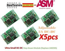 5pcs DC-DC Step Down Power 3A MP1584 Ultra-Small Adjustable Replace LM2596
