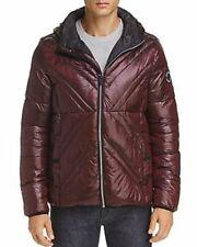 ONLY 1 LAST JACKET  Karl Lagerfeld Paris XXL Men X-Quilted Puffer Hoodie Jacket