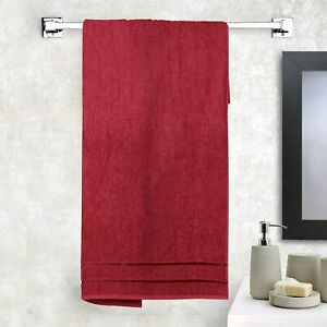 Cotton Large Bath Towel Super Absorbent,Anti Bacterial 450 GSM - Free Shipping