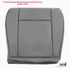 2009 - 2014 Ford E Series Van Passenger Bottom Replacement Vinyl Seat Cover Gray