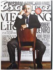 Esquire Magazine - January 2011 - Robert DeNiro, Mary-Louise Parker (M503)