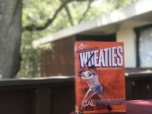 2002 Cal Ripken Jr All Time Iron Man Sealed/Unopened Wheaties Box