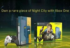 Xbox One X Cyberpunk 2077 limited edition console