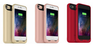 Mophie iPhone SE (2020) Juice Pack air Battery Case Cover Rose Gold / Red / Gold