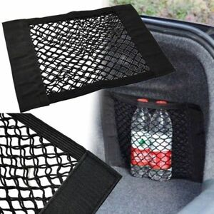 Car Auto Rear Trunk Back Seat Elastic String Net Mesh Storage Bag Pocket Cage