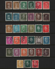 OPC 1926-30 Germany Complete Sets Sc#351-362 366-386 Used 28379