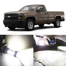 Alla Lighting Fog Light 9145 White LED Bulbs for 03~06 Chevy Silverado 1500 2500