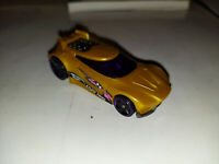 CHICANE 2018 Hot Wheels☆Gold/purple;STUNT TEAM☆Multi gift pack exclusive☆LOOSE