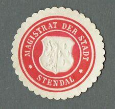 Siegelmarke MAGISTRAT DER STADT STENDAL